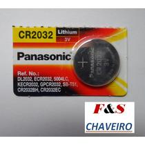 Bateria Cr2032 Panasonic Original Da Chave Punto