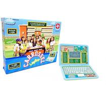 Laptop Carrossel Estrela Com 60 Atividades E Jogos - Inglês