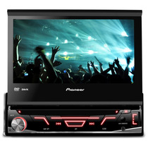 Super Dvd Carro Pioneer Avh 3880 Retratil Tela De 7 Com Usb