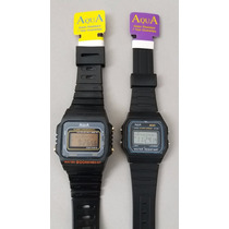 Kit 2 Relógios Aqua Original, A Prova Dágua Modelo Aq81+aq37