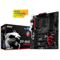 Placa Mãe Msi Z97-gd65 Gaming Serie 9 Lga 1150 Box