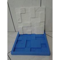 Molde Silicone Para Mosaicos 3d Em Gesso Tipo São Tome