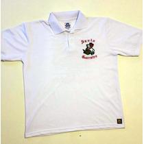 Camisa Polo - São Jorge Branca (masculina E Feminina)