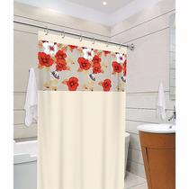Cortina Para Banheiro Box Clean 1,40m X 2,00m - Tecido Pvc