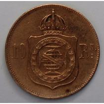 Vintens, Série De 03 Moedas, 10, 20 E 40 Reis De 1869 E 1879