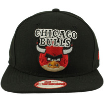 Boné New Era Of An Angry Birds Chicago Bulls Original Freecs