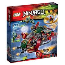 Brinquedo Bloco Montar Lego Ninjago Helicoptero Kai 70735