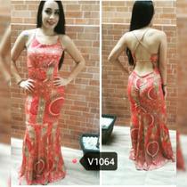 Vestido Listrado Sereia Levanta Bumbum C/ Bojo!!! Fashion