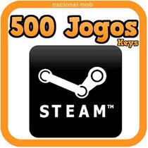 Jogos Pc 500 Keys Steam Pack Vídeo Games Off Igual Minecraft
