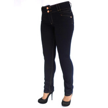 Calça Cintura Alta Skinny Biotipo 17989 Kalbatt Jeans