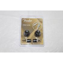 Trava Correia Fender Strap Locks Fslb1 Preto Orignal Novo