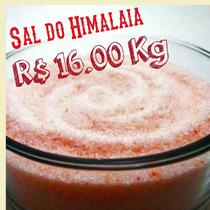 Sal Do Himalaia Fino 1 Kg - ( Rosa )