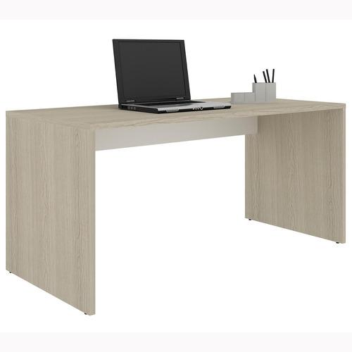 Mesa Office 1,60m X 75cm Madesa Tirol / branco