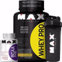 Combo Whey Pro Max Titanium 1kg + Bcaa 100cps + Coqueteleira