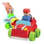 Bebê De Brinquedo - Tomy Empurre N Go Veículo Colorido Chu