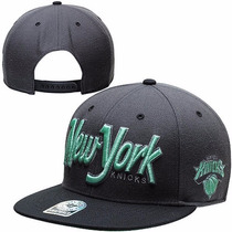 Boné New York Knicks Snapback Aba Reta Importado Nba Origina