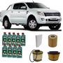 Kit Troca De Óleo Nova Ranger Diesel 2.2 2012 Em Diante 5w30