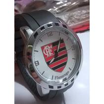 Relógio Masculino Esportivo Times Flamengo Fc Frete Gratis