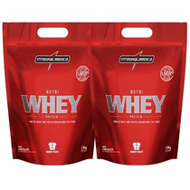 Kit Nutri Whey Protein - Integralmédica (3,6kg) (chocolate)