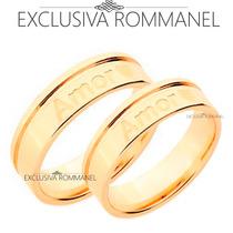 Rommanel Alianças Noivado Namoro Compromisso 511976 511976