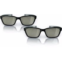 Pta417 Óculos 3d Philips Easy Kit C/2 - Novo - Frete Grátis