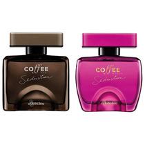 Kit De Perfumes Boticario Coffee Seduction: Man + Woman