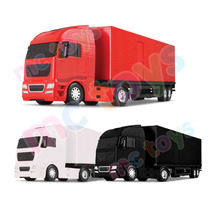 Caminhão Carreta Diamond Truck Baú - Roma Brinquedos