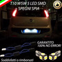Acessorio Kit Led Placa 5 Smd+canceller Fiat Punto Evo