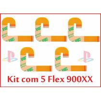 5 Cabos Flat J 90xxx Flex Frete 7 Reais