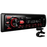 Pioneer Mp3 Player Mvh-298bt Radio Bluetooth Usb Aux -oferta