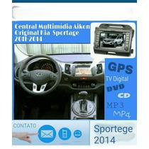 Central Multimidia Aikon Original Kia Sportage 2011 / 2014