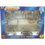 Kit Com 7 Peças Para Banheiro Mondo7 Fumê - Aquaplas