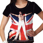 Camiseta Rock Queen Fred Mercury Feminina