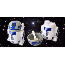 Star Wars R2d2 Porta Leite /cereal Droid Robô Astromech