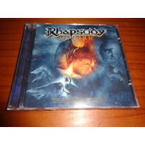 Rhapsody - Cd The Frozen Tears Of Angels - Lacrado - Nac.