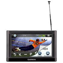 Navegador Gps Tela 5 Garmin Touch Tv Digital - Nüvi 55 Tv