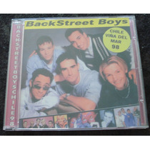 Backstreet Boys - Cd - Vina Del Mar - Chile 98 - Live !!!