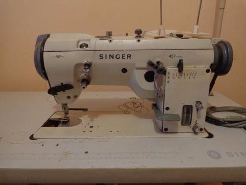 Máquina De Costura Industrial Zig-zag 3 Pontos Singer