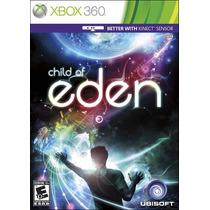 Jogo Xbox 360 Child Of Eden Original E Lacrado Midia Fisica