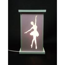 Frete Grátis Luminária Bailarina Menina Ballet Quarto Bebe