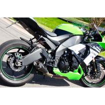 Ponteira Esportiva Shark Carbon Gp920 Kawasaki Zx10r 08 À 10