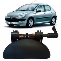 Maçaneta Externa Porta Traseira Peugeot 206/207 L Direito