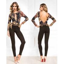 Body Basic Body Cobra Arabesco Maria Gueixa Ref 2922