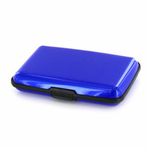 Carteira Masculina Porta Cartões De Visita Credito - Azul
