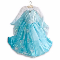 Fantasia Disney Frozen Princesa Elsa Original Super Luxo