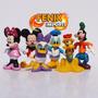 Bonecos Mickey Pato Donald Pluto Pateta Magali Minie