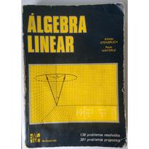 Livro Álgebra Linear Alfredo Steinbruch Paulo Winterle Pears