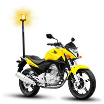 Sinalizador De Led Giroled Giroflex De Led P/ Moto 72 Leds