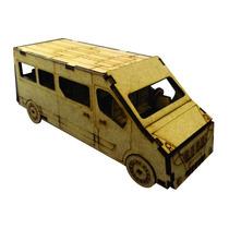 Brinquedo De Montar - Quebra-cabeça 3d - Van