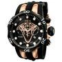 Relógio Invicta Reserve Venom Viper 0974 Gold 0975 Rosê Novo